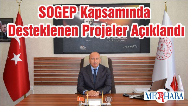SOGEP Kapsamında Desteklenen Projeler Açıklandı