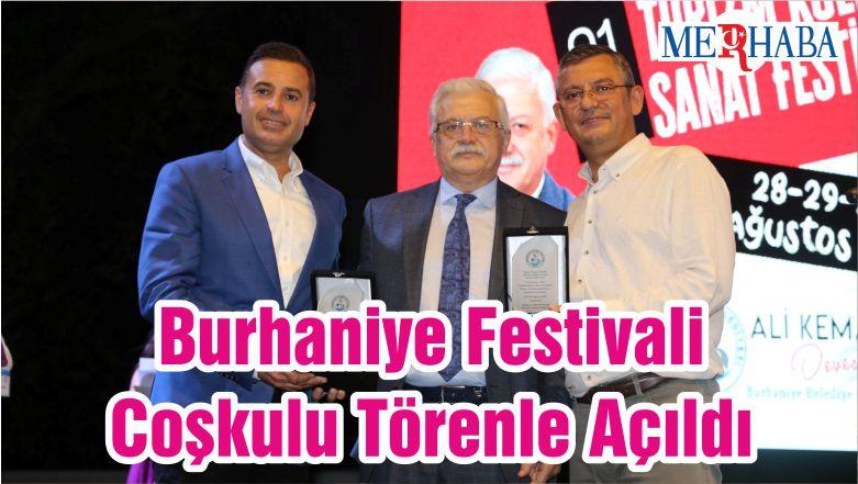 Burhaniye Festivali Coşkulu Törenle Açıldı