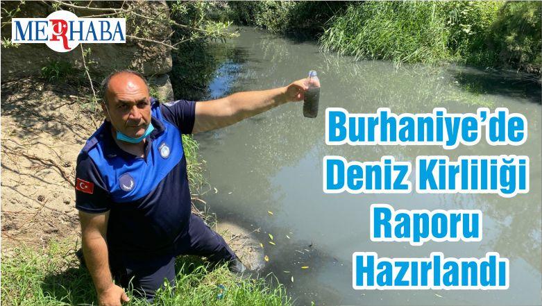 Burhaniye'de Deniz Kirliliği Raporu Hazırlandı