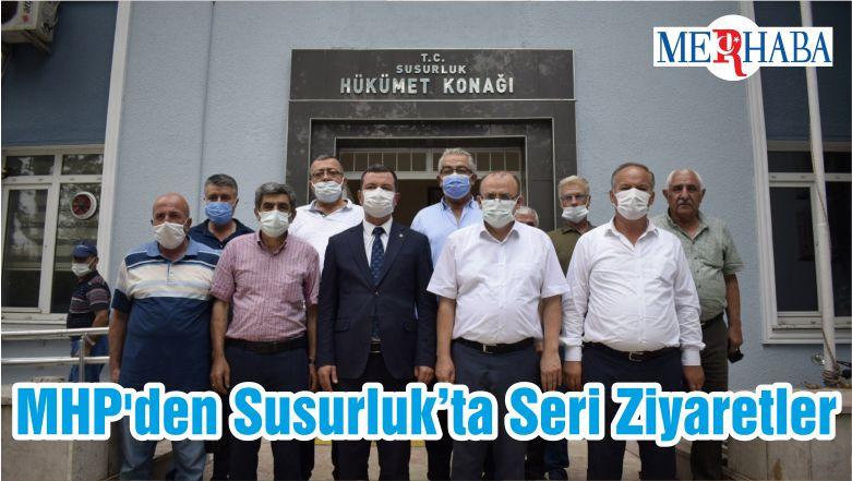 MHP'den Susurluk'ta Seri Ziyaretler