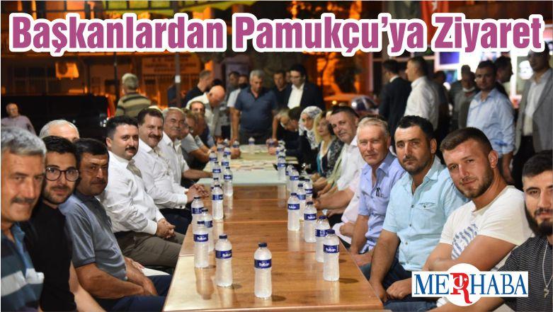Başkanlardan Pamukçu'ya Ziyaret