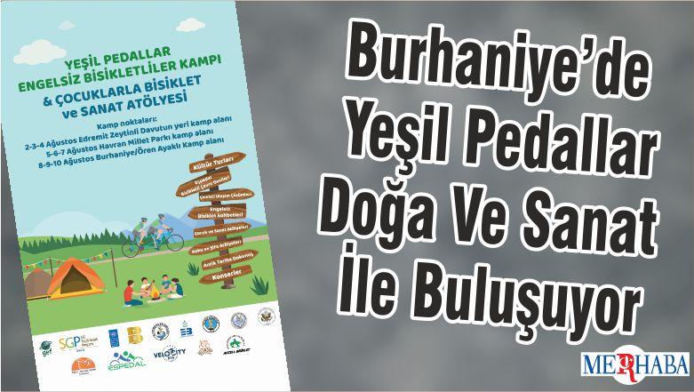 Burhaniye'de Yeşil Pedallar Doğa Ve Sanat İle Buluşuyor