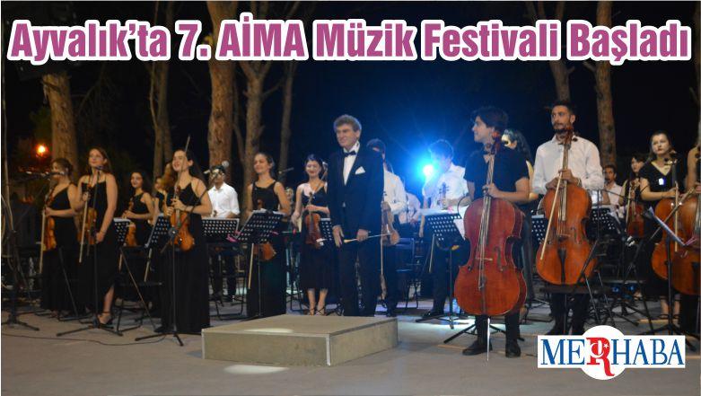 Ayvalık'ta 7. AİMA Müzik Festivali Başladı