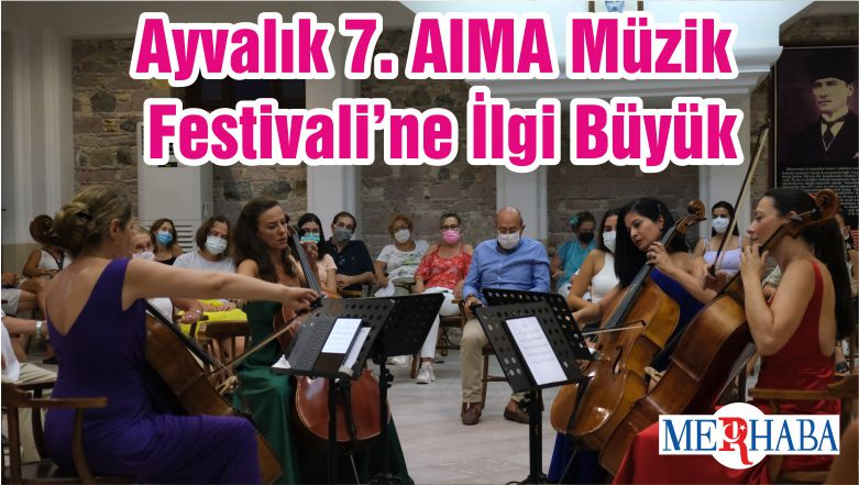 Ayvalık 7. AIMA Müzik Festivali'ne İlgi Büyük