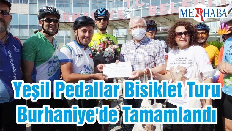 Yeşil Pedallar Bisiklet Turu Burhaniye'de Tamamlandı