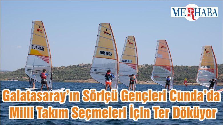 Galatasaray'ın Sörfçü Gençleri Cunda'da Milli Takım Seçmeleri İçin Ter Döküyor
