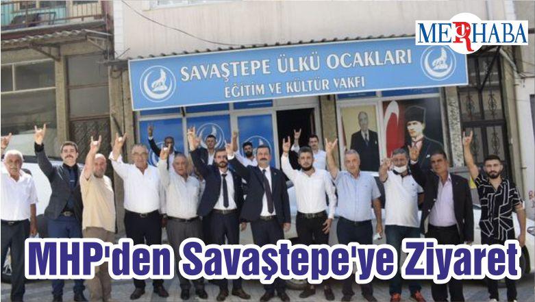 MHP'den Savaştepe'ye Ziyaret