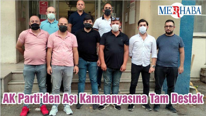 AK Parti'den Aşı Kampanyasına Tam Destek