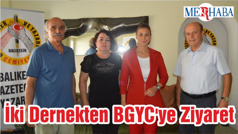 İki Dernekten BGYC'ye Ziyaret