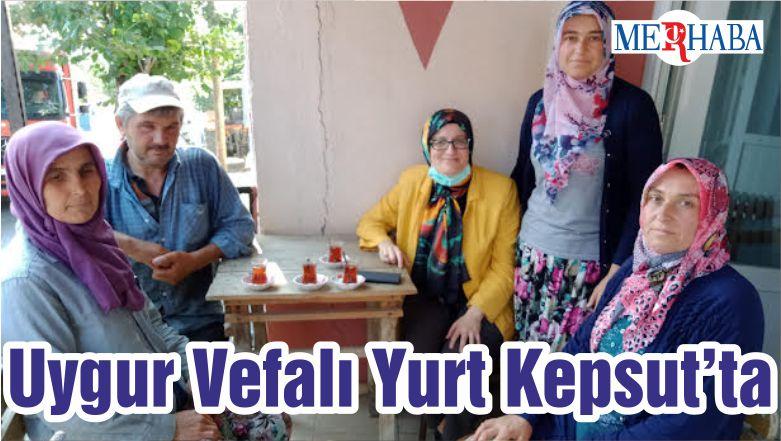 Milletvekili Uygur Vefalı Yurt Kepsut'ta