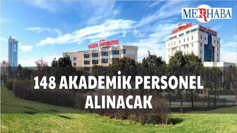 İstanbul Gelişim Üniversitesinden Akademik Personel Alacak