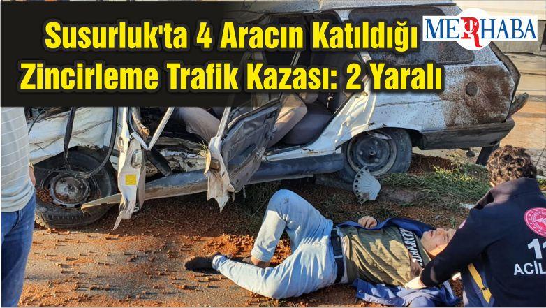 Susurluk'ta 4 Aracın Katıldığı Zincirleme Trafik Kazası: 2 Yaralı