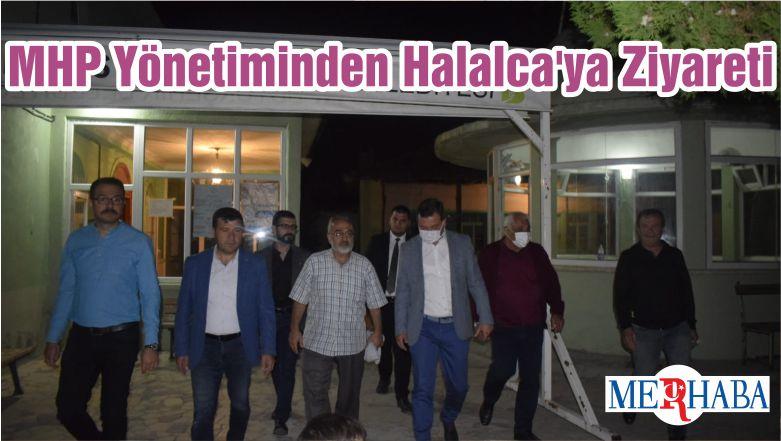 MHP Yönetiminden Halalca'ya Ziyareti