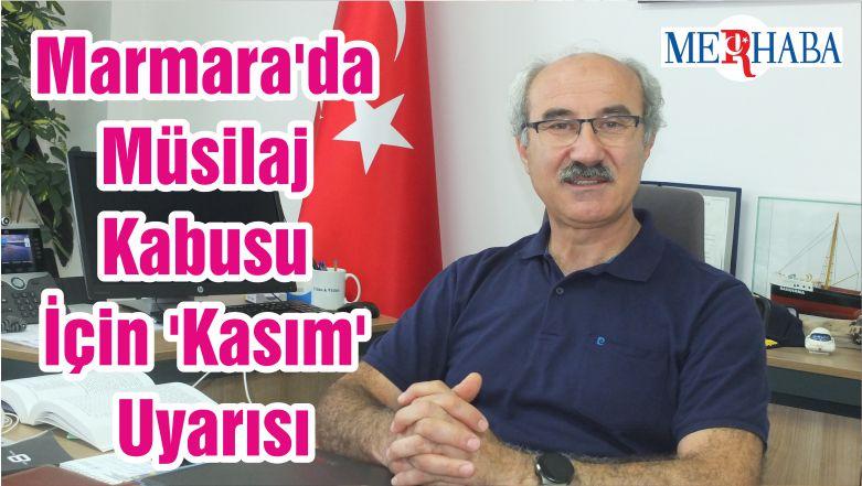 Marmara'da Müsilaj Kabusu İçin 'Kasım' Uyarısı