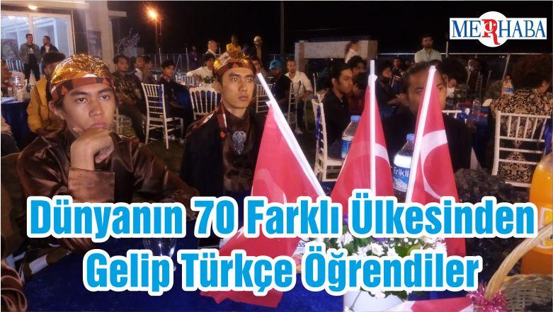 Dünyanın 70 Farklı Ülkesinden Gelip Türkçe Öğrendiler