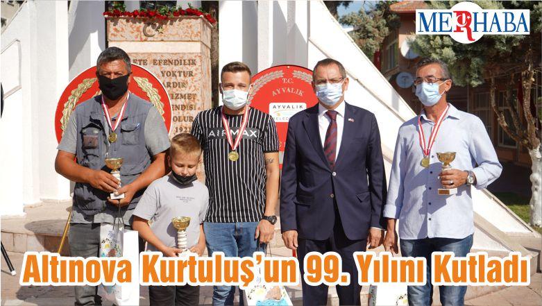 Altınova Kurtuluş'un 99. Yılını Kutladı