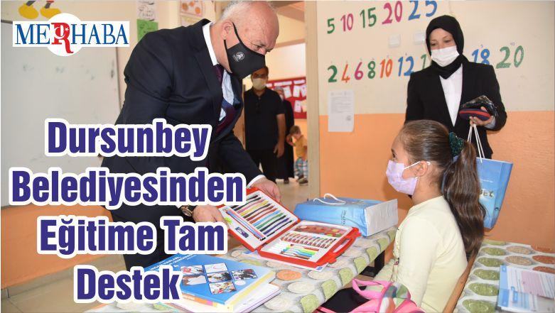 Dursunbey Belediyesinden Eğitime Tam Destek