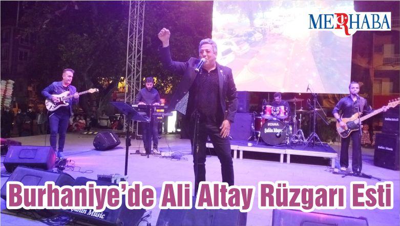 Burhaniye'de Ali Altay Rüzgarı Esti