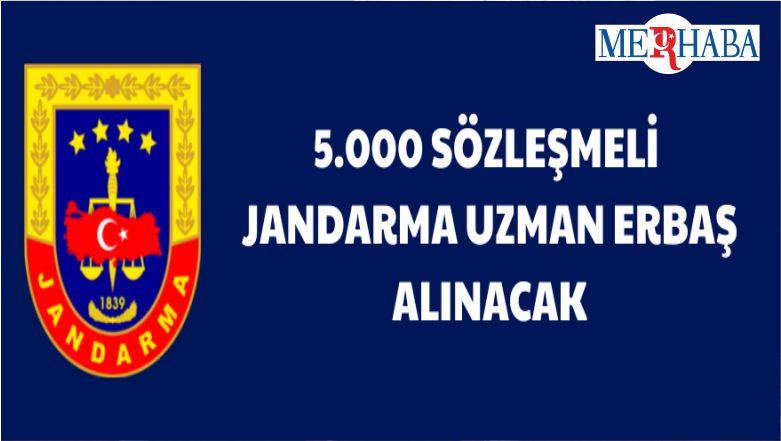 5 Bin Sözleşmeli Jandarma Uzman Erbaş Alınacak