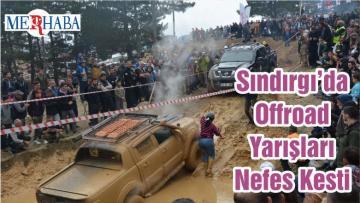 Sındırgı'da Offroad Yarışları Nefes Kesti