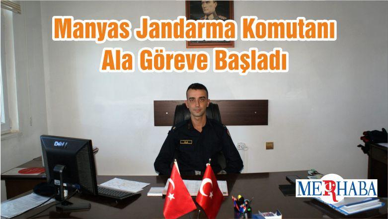 Manyas Jandarma Komutanı Ala Göreve Başladı