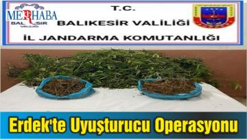 Erdek'te Uyuşturucu Operasyonu