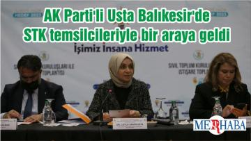 AK Parti'li Usta Balıkesir'de STK temsilcileriyle bir araya geldi