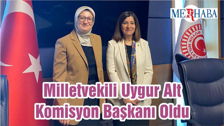 Milletvekili Uygur Alt Komisyon Başkanı Oldu