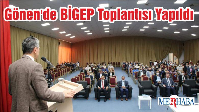 Gönen'de BİGEP Toplantısı Yapıldı