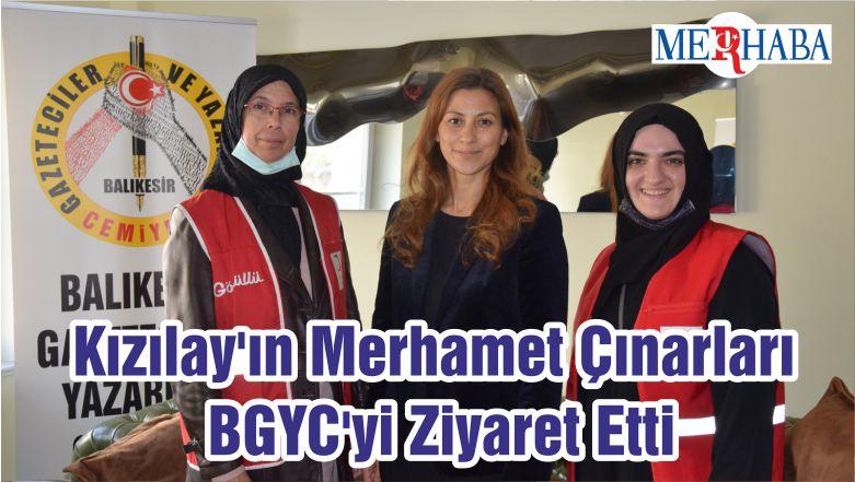 Kızılay'ın Merhamet Çınarları BGYC'yi Ziyaret Etti