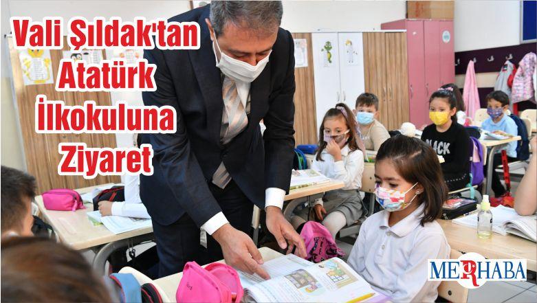 Vali Şıldak'tan Atatürk İlkokuluna Ziyaret